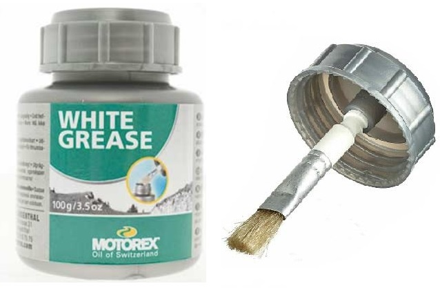 motorex white grease 100gr mast za kolo