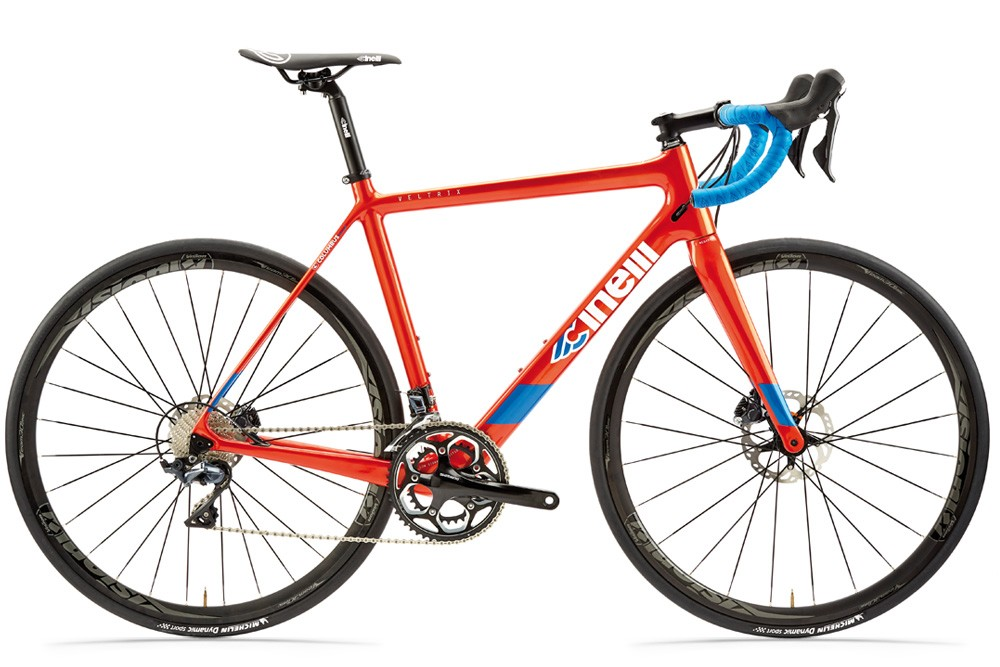 kolo cinelli veltrix disc 105 blue burns orange 2020