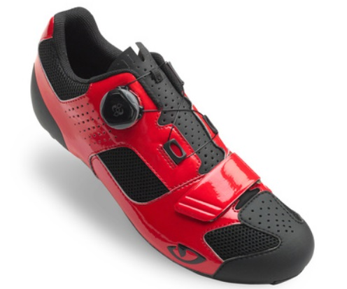 Čevlji giro trans boa  red/black