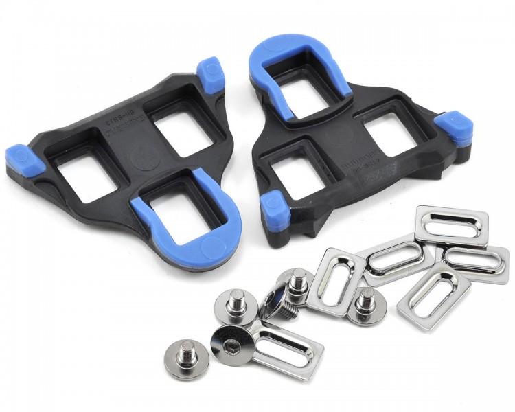 ploŠČice pedal shimano spd-sl  sm-sh12 blue