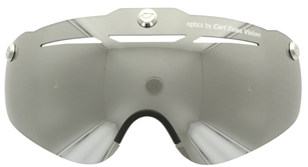 steklo giro air attack eye shield  silver flash