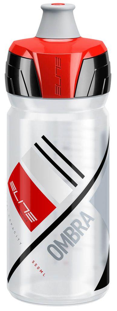 plastenka elite ombra  clear/red 550ml