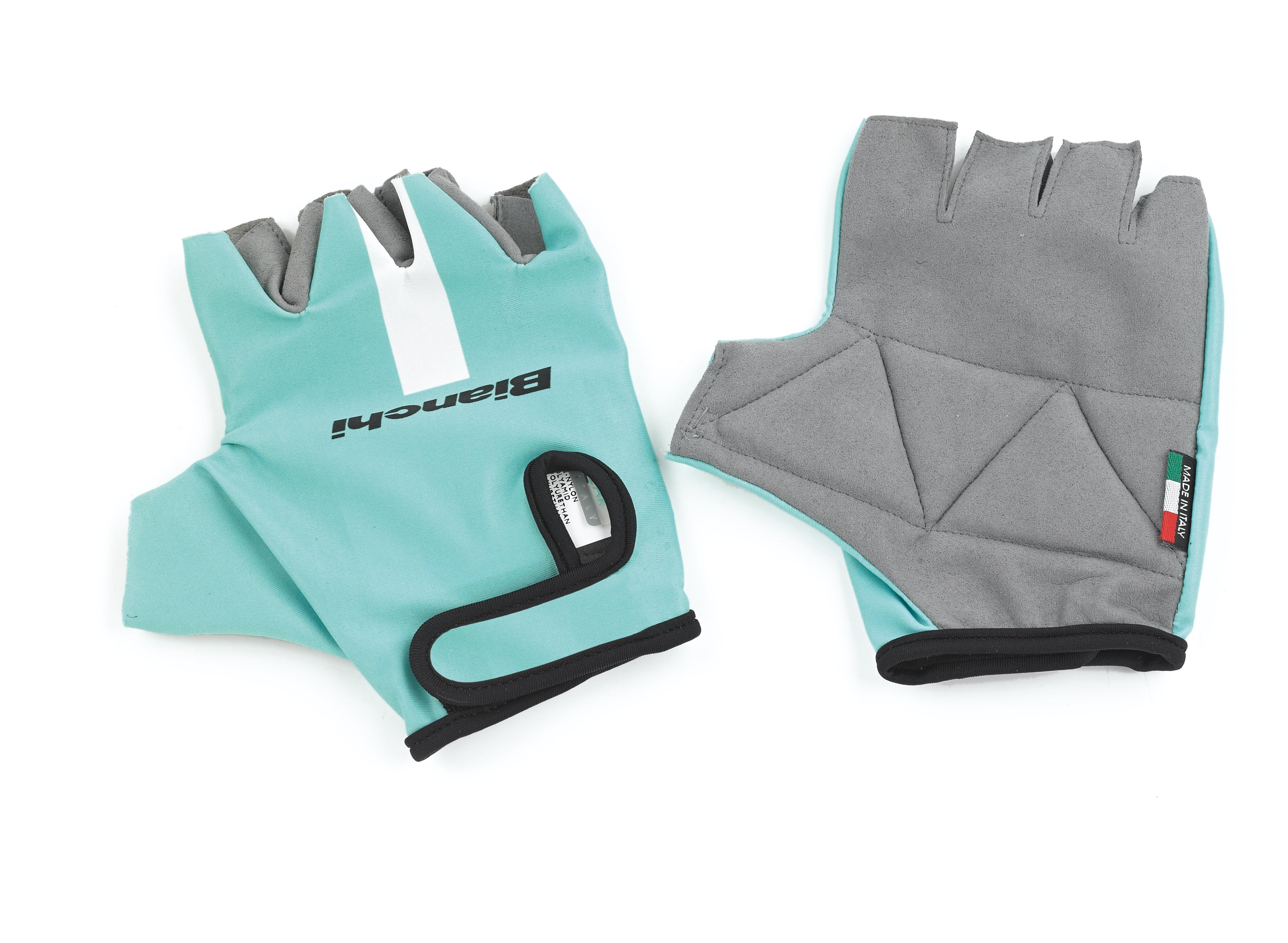 rokavice bianchi summer gloves celeste