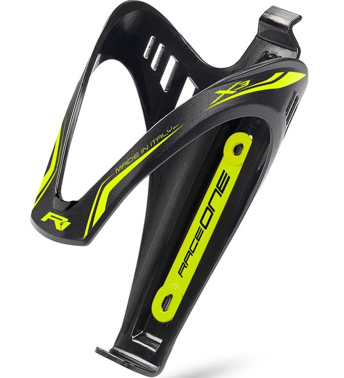nosilec plastenke raceone x3 black/neon yellow