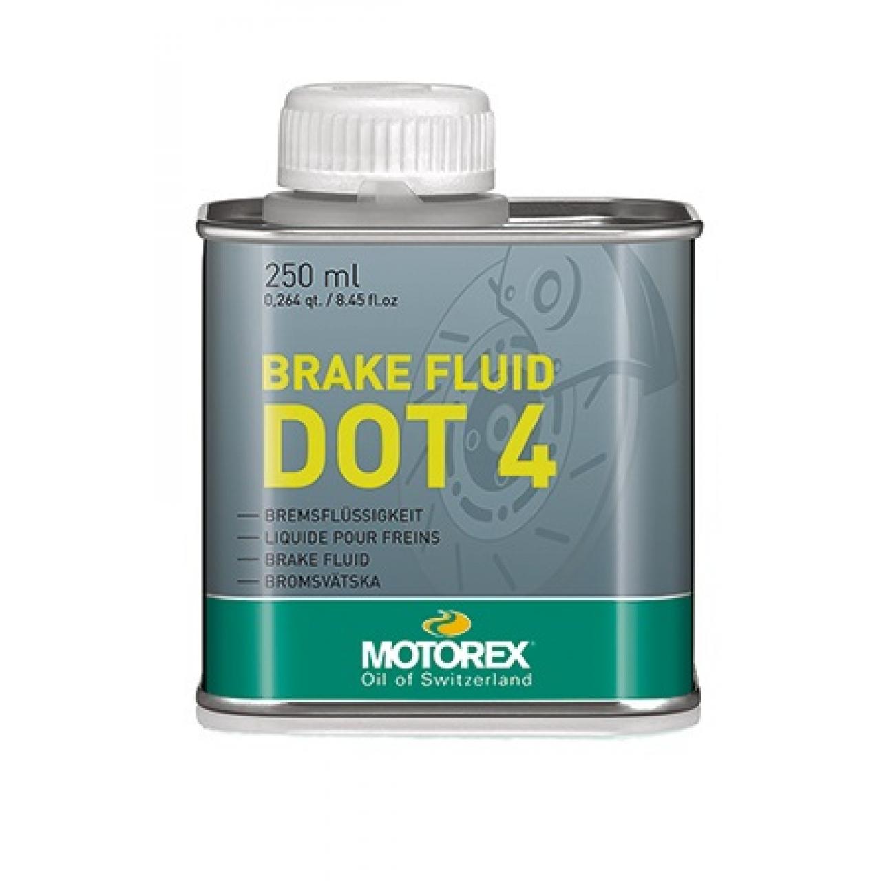 motorex brake fluid dot4 250ml tekoČina za hidravliČne zavore