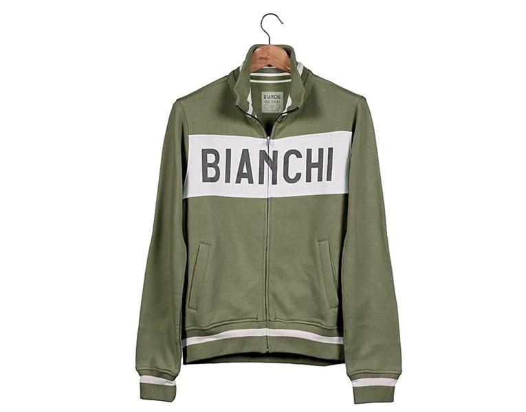 jopica bianchi sweatshirt eroica military green