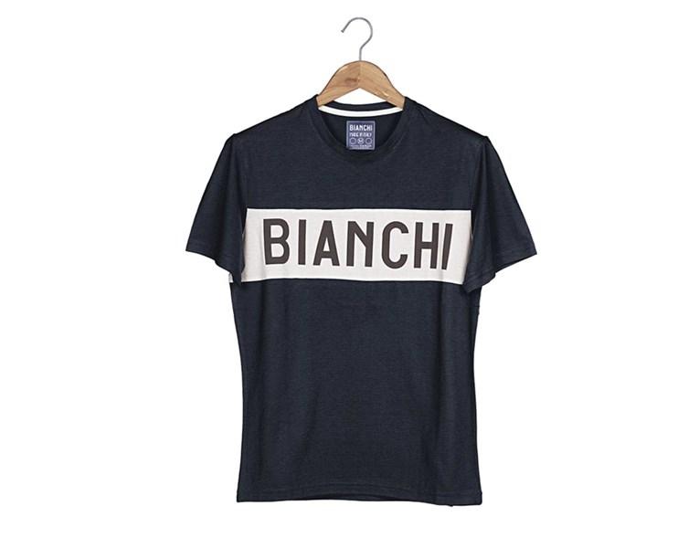 majica bianchi t-shirt eroica blue