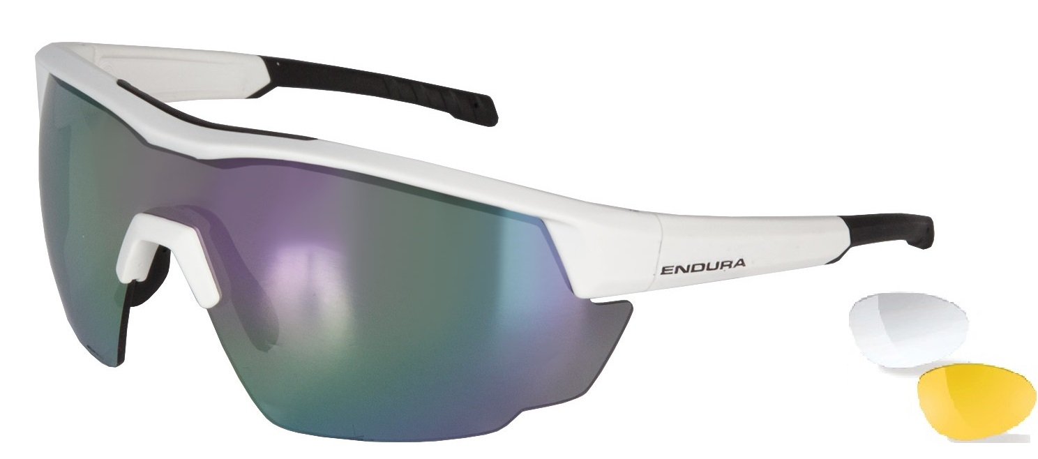 oČala endura fs260-pro glasses white
