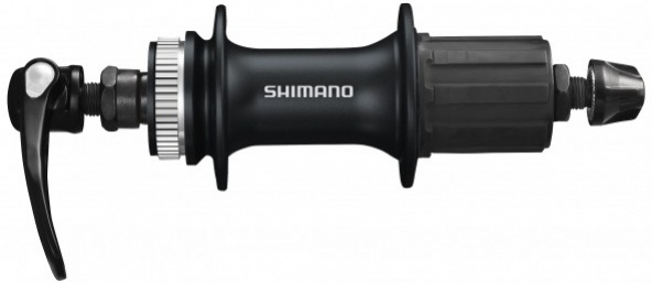 shimano pesto zadnje alivio hb-m4050 qr 135x10 disc cl 32l black