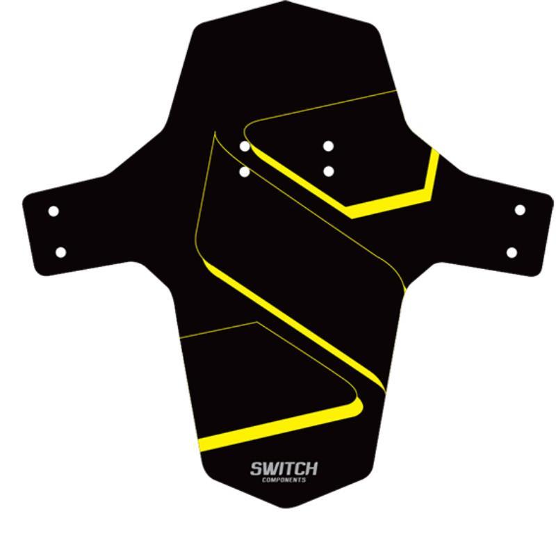 blatnik switch mud prednji  black/neon yellow