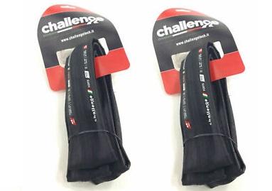 plaŠČ challenge forte race  23mm black ( 2 kos)