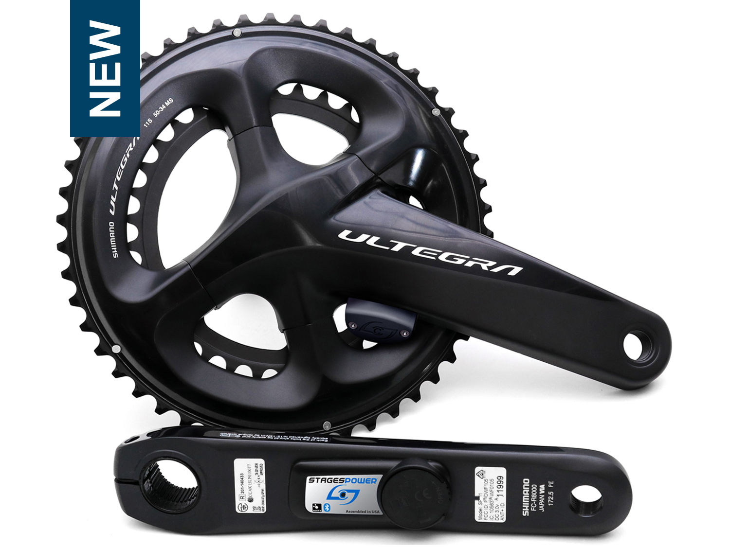 stages power meter shimano ultegra 8000 r+l