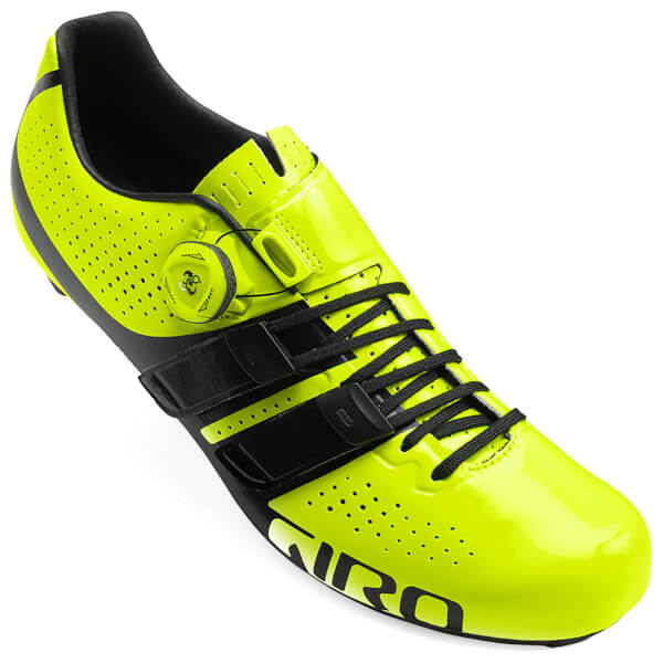 Čevlji giro factor techlace highlight yellow