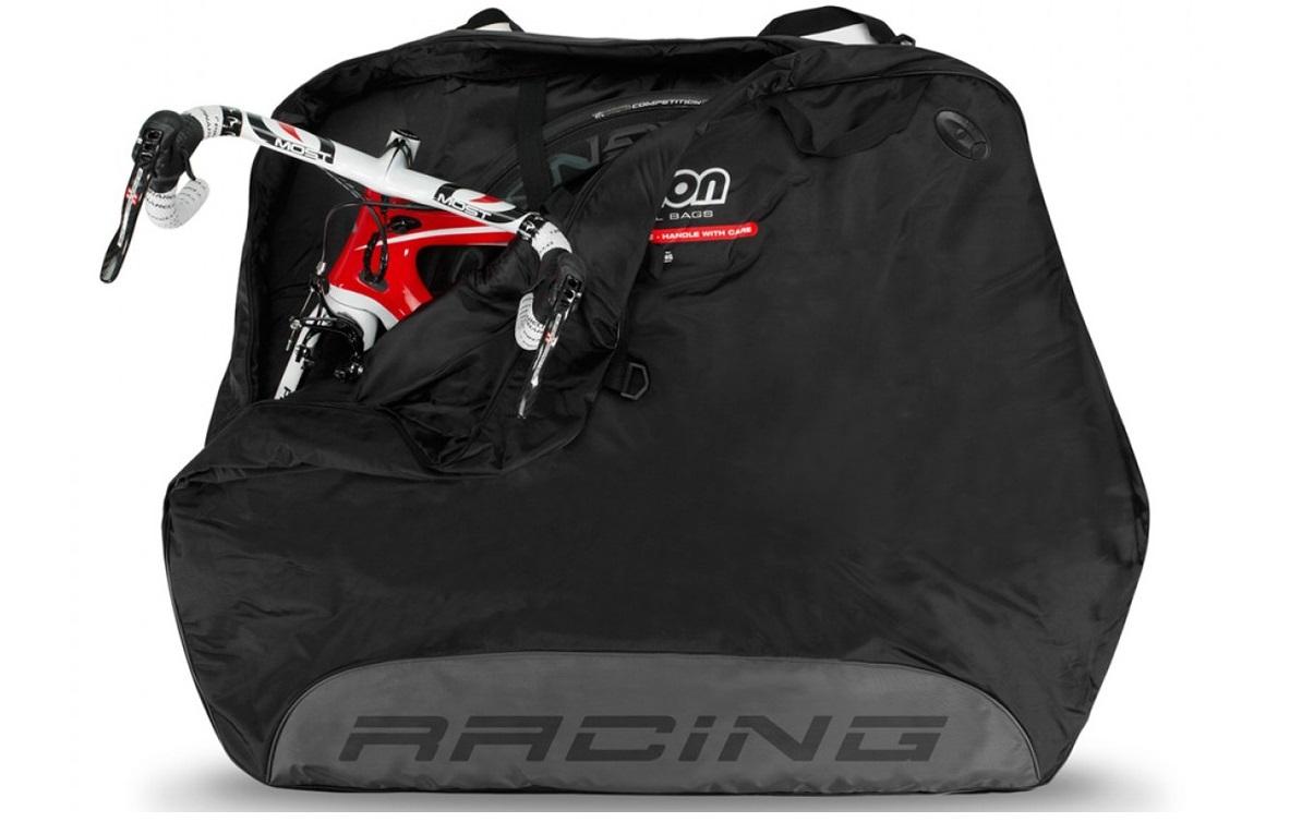 scicon travel plus racing bike bag black