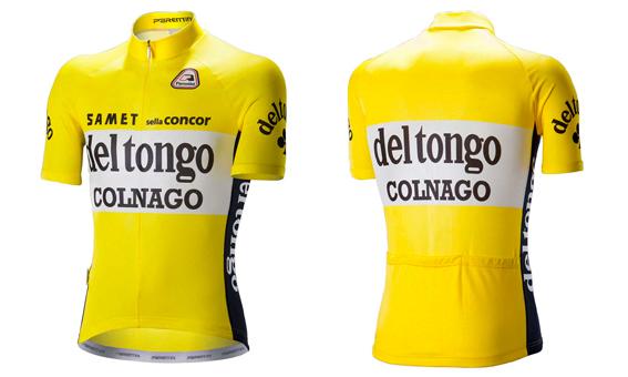 majica del tongo colnago giallo
