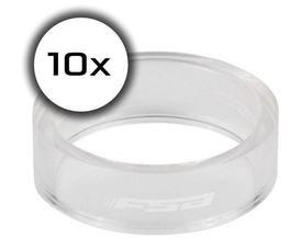 distanČnik fsa 1-1/8x10mm (set 10 kos) transparent