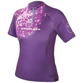 majica endura wmns singletrack ii s/s ltd purple