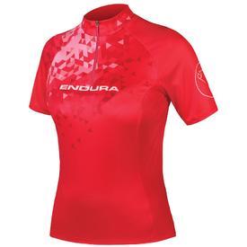 majica endura wmns singletrack ii s/s ltd red