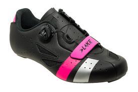 Čevlji lake cx218  black/pink/silver
