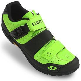 Čevlji giro terraduro lime/black