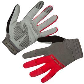 rokavice endura hummvee plus ii red.