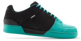 Čevlji giro jacket black/turquoise