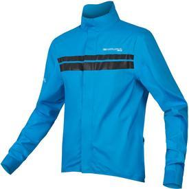 vetrovka endura pro sl shell jacket ii  hi-viz blue.