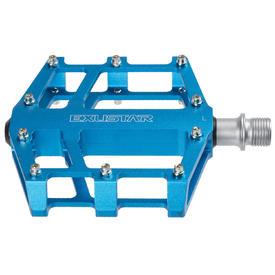 pedala exustar flat e-pb525 blue