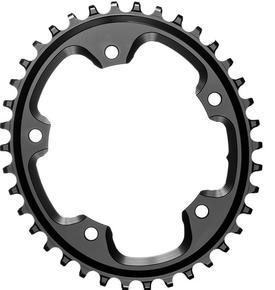 verižnik absolute black premium oval road r9100/r8000/r7000 34z black + vijaki