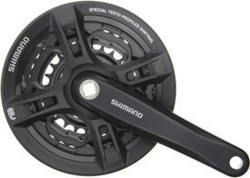 gonilke shimano tourney fc-ty301  170mm 42-34-24 black