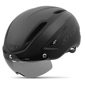 Čelada giro air attack shield matte black/ gloss black