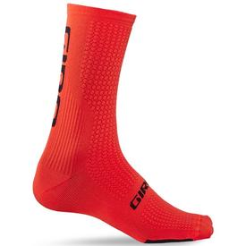nogavice giro hrc team vermillion/black