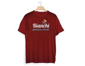 majica bianchi t-shirt  passione vintage bordo