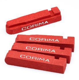 zavorne obloge corima new carbon shimano 2 par (4 kos)