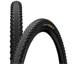 plaŠČ continental terra trail tr protect700x40 (40-622)  black folding