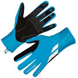 rokavice endura pro sl windproof hi-viz blue.
