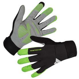 rokavice endura windchill hi-viz green.