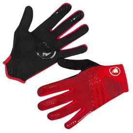rokavice endura singletrack liteknitrust red.