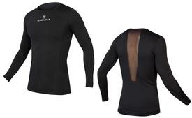 majica endura engineeredl/s baselayer  black