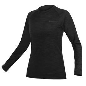 majica spodnja endura wms baabaablend l/s black.
