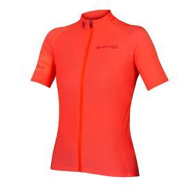 majica endura wms pro sl s/s jersey ii hi-viz coral