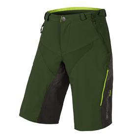 hlače kratke endura mt500 spray baggy ii forest green.