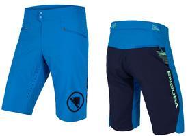 hlače kratke endura singletrack lite short standard fit azure blu