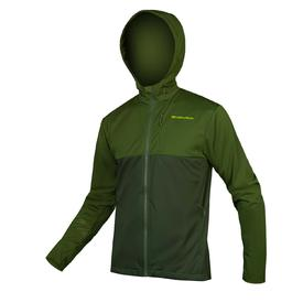 jakna endura singletrack softshell ii forest green.