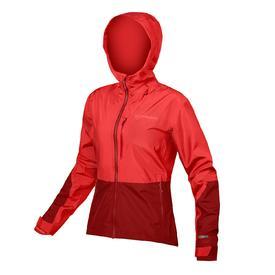jakna endura wms singletrack jacket hi-viz coral.