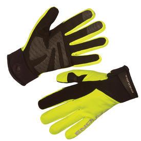 rokavice endura strike ii  hi-viz yellow