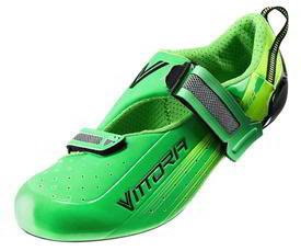 Čevlji vittoria tri pro velcro  ud carbon green