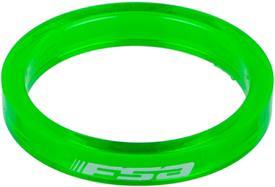 distanČnik fsa 1-1/8x5mm (set 10 kos) green transparent