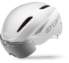 Čelada giro air attack shield matte white/ silver