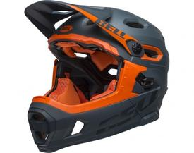 Čelada bell super dh mips  matt/gloss slate orange